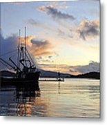 Leaving Safe Harbor Metal Print