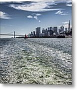 Leaving San Francisco Metal Print