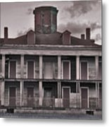 Louisiana Plantation House Metal Print