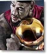 Lebron James - My Way Metal Print