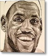 Lebron James Metal Print by Tamir Barkan