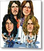 Led Zeppelin Metal Print