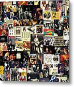 Led Zeppelin Collage Metal Print