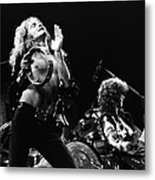 Led Zeppelin Live 1975 Metal Print
