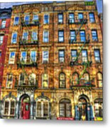 Led Zeppelin Physical Graffiti Building In Color Metal Print