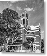 Lee County Courthouse In Giddings Texas Metal Print