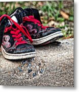 Left On The Curb Metal Print