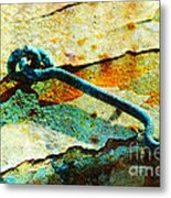 Left Open Metal Print