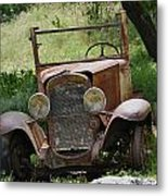 Left To Die Metal Print