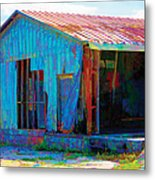 Left To Fly Metal Print