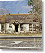 Left Turn Metal Print