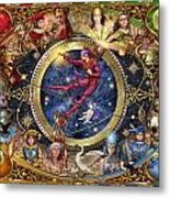 Legacy Of The Divine Tarot Metal Print by Ciro Marchetti
