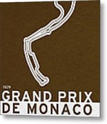 Legendary Races - 1929 Grand Prix De Monaco Metal Print