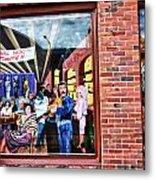 Legends Bar In Downtown Nashville Metal Print