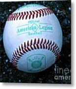 Legion Baseball Metal Print by Colleen Kammerer