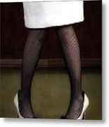 Legs And Shoes Metal Print