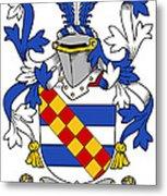 Leigh Coat Of Arms II Bradley Lancashire Metal Print