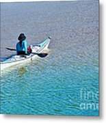 Leisure On The Lake Metal Print