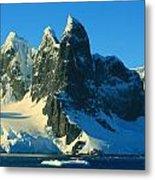 Lemaire Channel Antarctica Metal Print