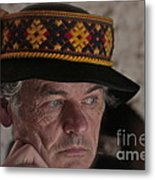 Lemko Grand Portrait By Adela . Metal Print
