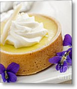 Lemon Tart  Metal Print