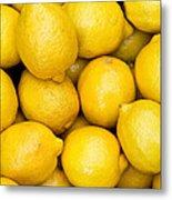 Lemons 02 Metal Print