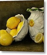 Lemons Today Metal Print by Diana Angstadt