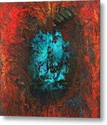 Lemurian Fire Cave 2010 Metal Print