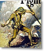Lend The Way They Fight, 1918 Metal Print