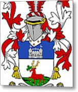 Lenihan Coat Of Arms Irish Metal Print