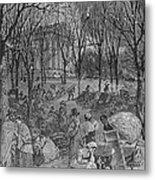 Lenox, Massachusetts, From Historical Collections Of Massachusetts, John Warner Barber, Engraved Metal Print