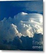 Lenticular Cloud Metal Print