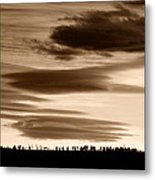 Lenticular Sunset 2 Metal Print