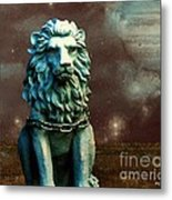 Leo Celestial Metal Print