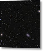 Leo I Galaxy Cluster Showing Messier Metal Print