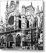 Leon Cathedral Metal Print