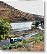 Lepage Rv Park On Columbia River-or Metal Print
