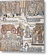 Lepers, 1493 Metal Print