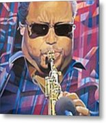 Leroi Moore And 2007 Lights Metal Print