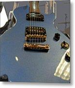 Les Paul Gibson Metal Print
