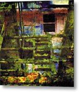 Less Travelled 25 Metal Print