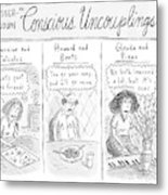 Lesser-known 'conscious Uncouplings Three Panels Metal Print