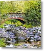 Lester Park Bridge Metal Print