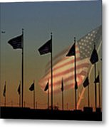 Let Freedom Ring Metal Print