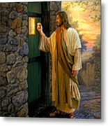 Let Him In Metal Print