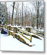 Let It Snow Let It Snow Metal Print