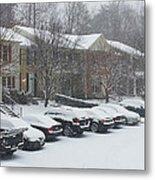 Let It Snow Snow Snow Metal Print