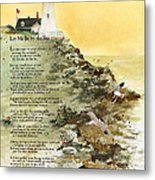 Let Me Be By The Sea Metal Print