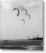 Let The Kites Fly Metal Print