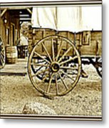 Let The Old Times Roll Metal Print